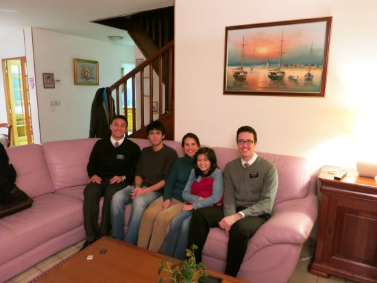 A part member family - the Mirs - whose son we are working with. They are an incredible family and Nicolas just accepted a baptismal date for January 4th!