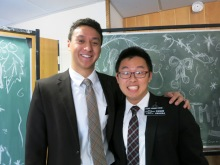 Elder Kwang, the other Mandarin Speaking missionary from Singapore, and I