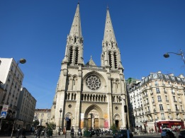Cathedral we passed by on our way to do some service for a member. Sometimes, I forget that I am in France