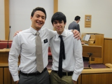 Me and Nicolas, one of my favorite converts