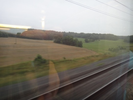 Country-side on the TGV